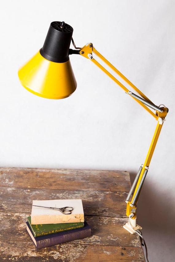 Yellow Industrial Lamp