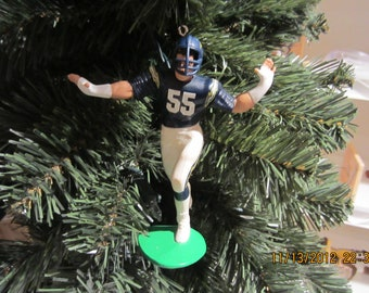 Junior Seau  San Diego Chargers PLEASE SEE DESCRIPTION custom football sports ornament many to choose from
