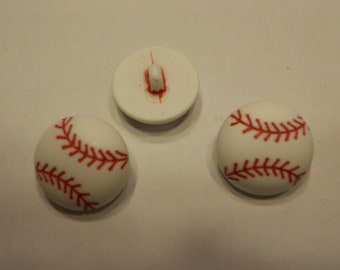 3 extra large baseball buttons, 22 mm (11)