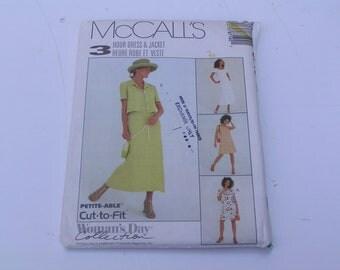 McCalls Pattern 8719 3 Hour Dress Jacket