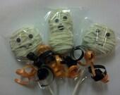 Mummy Halloween Chocolate Covered Oreo