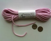 Recycled T-shirt Yarn Super Bulky Pink 10 yards - 111477432