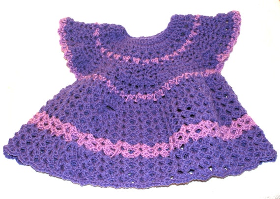 Purple Baby Girl Dress Cute Baby Clothes Girl Clothing