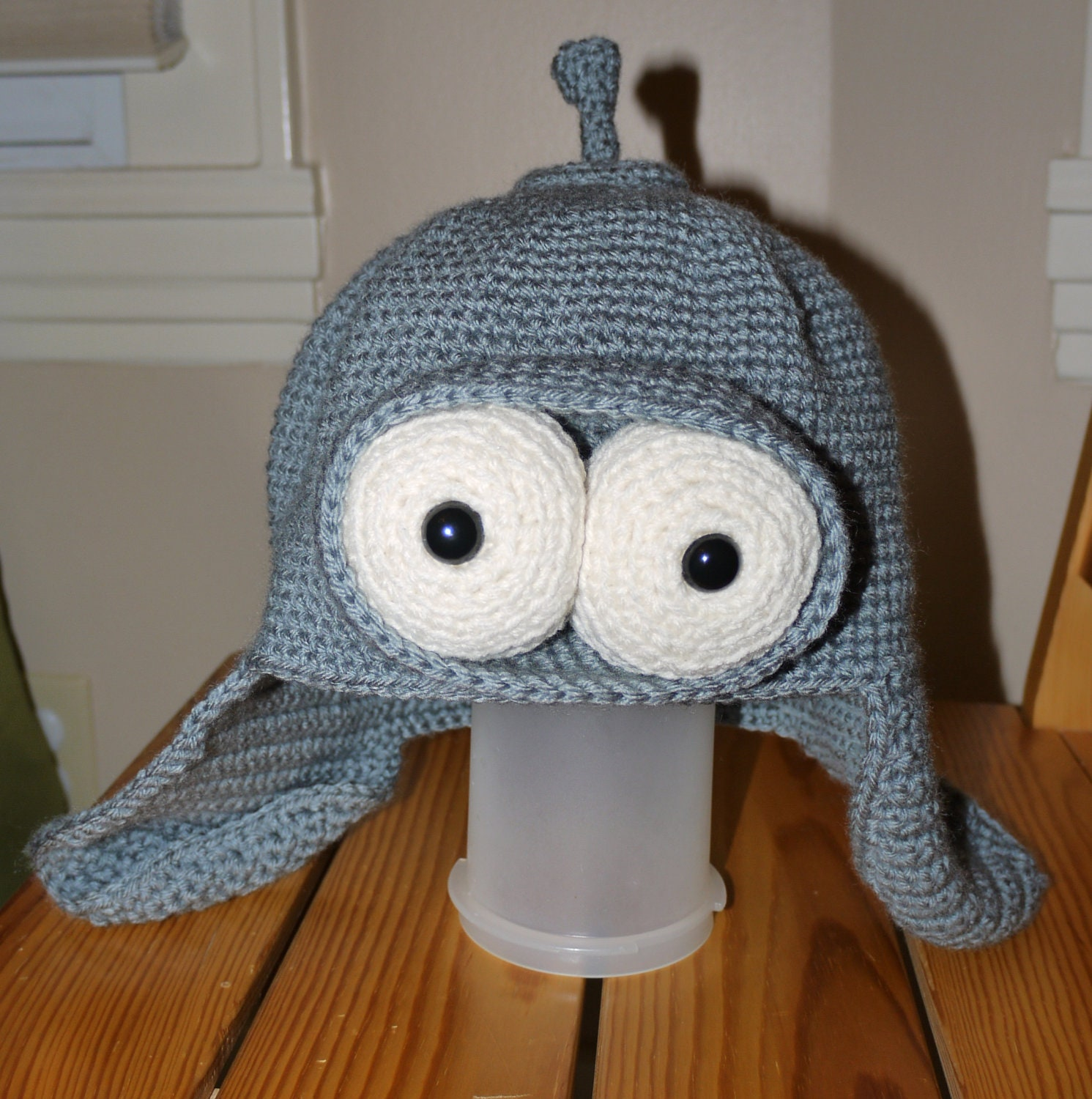 A Robot Hat -PATTERN ONLY- Adult Sizes
