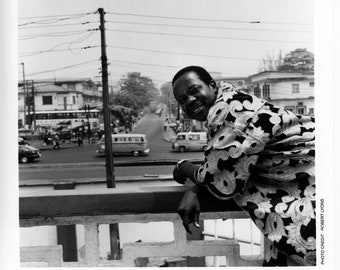 King Sunny Ade Publicity Photo     8 by 10 inches