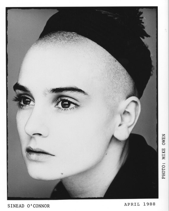 Sinead O'Connor Publicity Photo     8 by 10 Inches