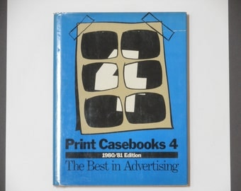 Print Casebooks 4 - 1980/81 Edition - The Best in Advertising - TV Commercials  Print Ad Campaigns  Coca-Cola Ads - Vintage Advertising Book