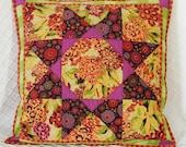 Autumn Star Pillow Cover OOaK