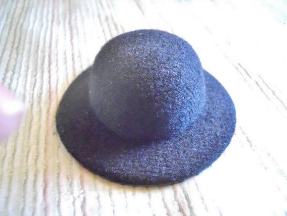 S A L E Mini Top Hat Base Black for DIY Mini Top Hat Fascinator