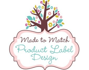 Made To Match - Product Label Design