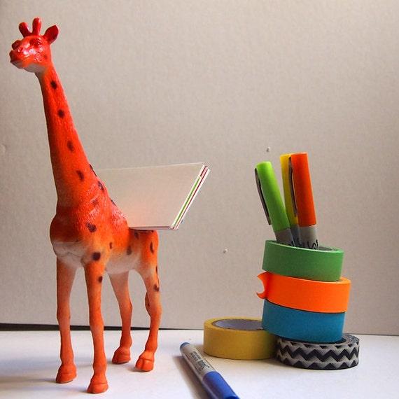 Giraffe Business Card Holder