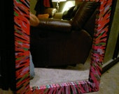 11 x 14 mirror with  painted frame