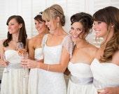 Crystal, Rhinestone Satin Ribbon Wedding Dress Sash, Beaded Belt. Bridesmaids Bling. Black, Silver Gray, Tan, White, Ivory.  Small/ Med.