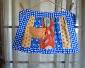 girls half apron