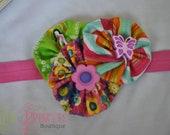 blooming into summer headband