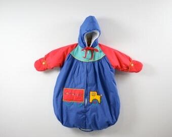 Vintage Tiny Tots Snow Suit 1970s