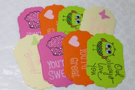 Handmade Lunchbox notes for Girls, Back To School Love Notes