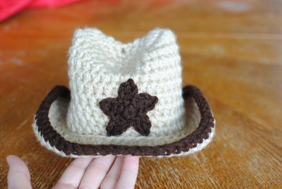 3-4 Month Cowboy Hat (Ready to Ship)