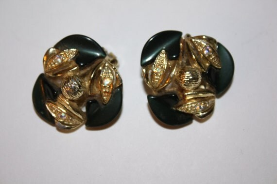 Vintage Earrings Thermoset 1950s Jewelry