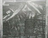 Spirit Mountain by Mike Schneider Metal Art