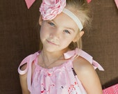 free shipping...Pink Elephant Pillowcase Dress...by Sassy Chic...Sizes 12m, 18m, 2t, 3t, 4t, 5y, 6y, 7y
