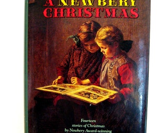 Christmas Coffee table book -  A Newbery Christmas, with Award-winning authors, 14 stories,1991