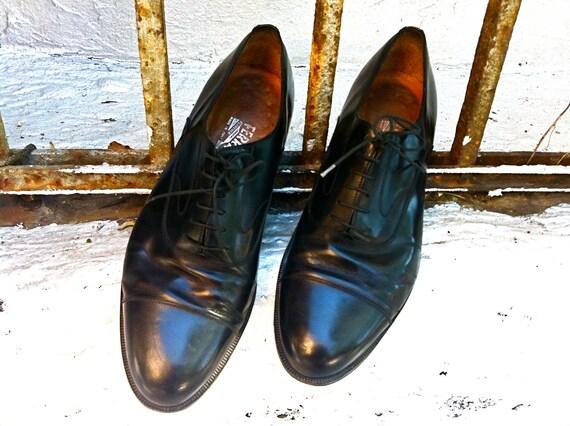 Ferragamo Sleek Leather Oxford's