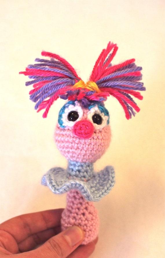 PATTERN Instant Abby Cadabby Sesame Street Baby Rattle Crochet