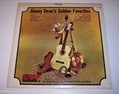 Vintage Jimmy Dean's Golden Favorites LP vinyl record
