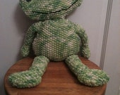 Custom Frog doll for Donesia