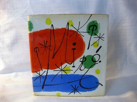 Miro, 1959, 1st Edition MOMA Art Book