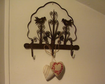 Vintage Kitchen Hooks. Folk Art.