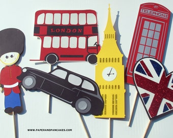 Royal Wedding Photo Booth Props - British Invasion Photobooth Collection
