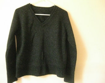 Sweater Wool Unisex, Mens, Womens Pullover V Neck