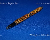 20% OFF- Slimline Stylus Pen made from Color Wood with unique beaded profile