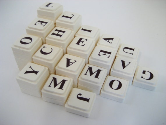 Stackable Letter Tiles - letters, homeschool, spelling, phonics, syllable rules, language arts, vocabulary