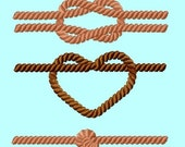 3 individual Ropes Border Frame Embroidery Designs (3 sizes each) INSTANT DOWNLOAD