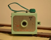 Mint Green Savoy Mark II Camera