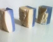 Lavender Chamomile Cold Process Soap/4oz/Vegan/Natural/Glycerin FREE