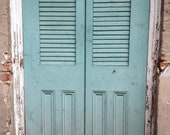 Original photo- New Orleans Louisiana vintage streets door in French Quarter. Can print any size, ask for prices