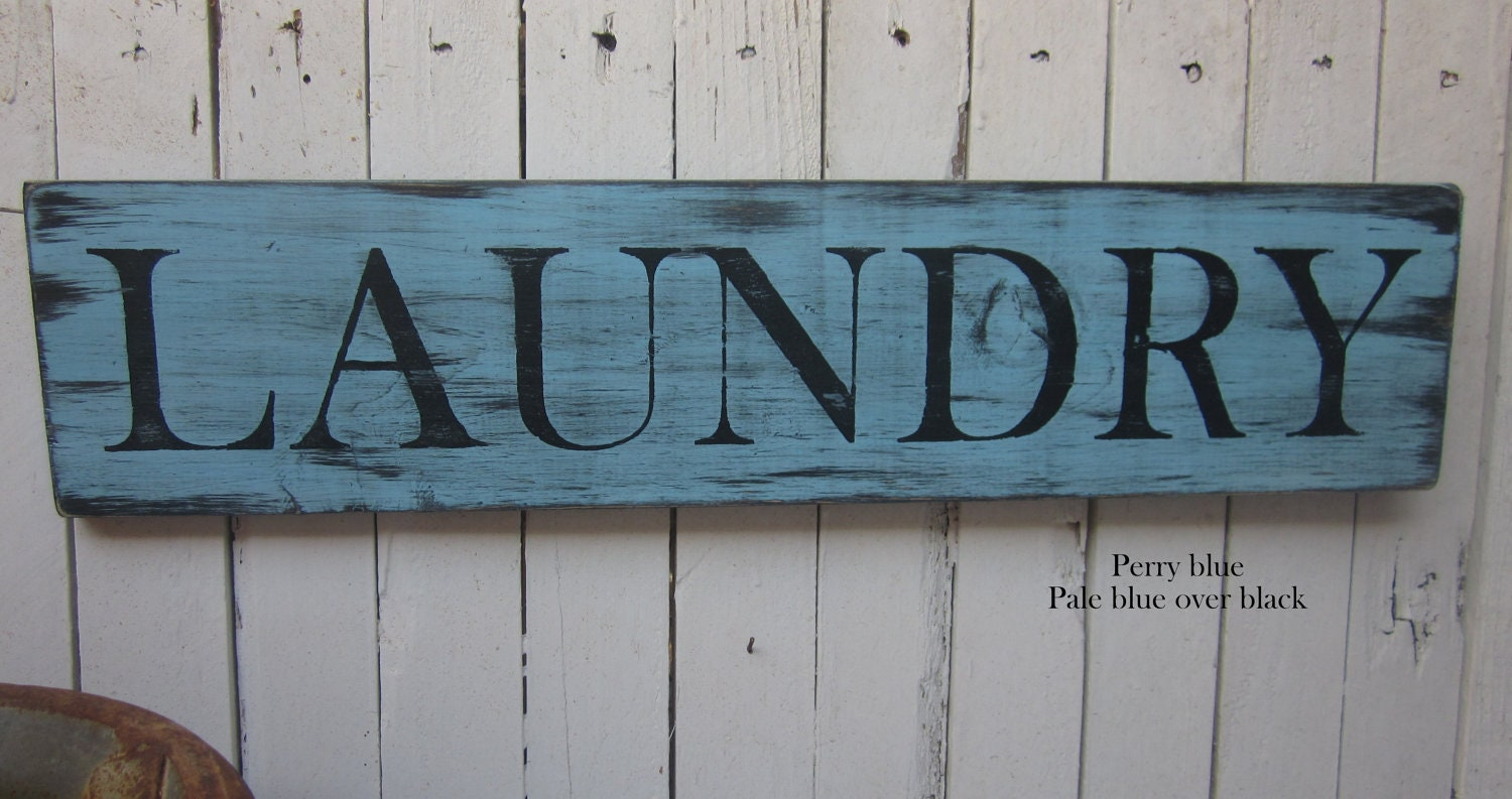 Vintage laundry room decor photograph laundry room wooden for Room decor signs