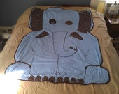 Custom Elephant Quilt: Final Payment