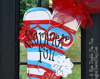Flip Flop Wreath | Flip Flop Decor | Flip Flop Sign | Summer Wreath | Pool Signs | Pool Party Invitation | Pool Decor | Beach Wreath