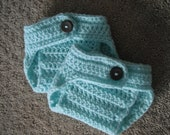 New Born Soft Green Diaper Cover