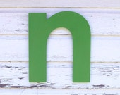 """Large 18"""" high letter, Modern wall letter, Oversize wall letter, pick your color"""