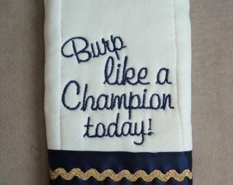 Irish Burp Cloth