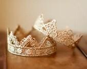 Newborn Crown SET- Photo Prop   Tiara - Darling and Bella