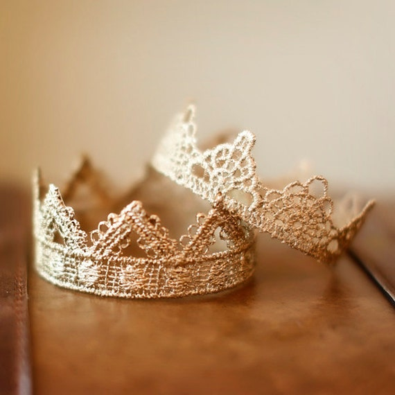 Newborn Crown SET- Photo Prop | Tiara - Darling and Bella, baby crowns, mini crowns