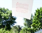 Silkscreen Print The Never Bird