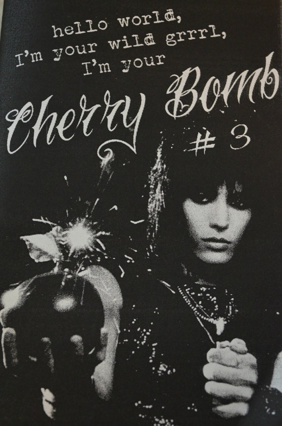 Cherry Bomb Zine Issue 3 - A Riot Grrrl Submissions Based Zine